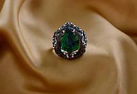 Красивое женское кольцо Турецкий Тюльпан.Бижутерия Великолепный Век.
