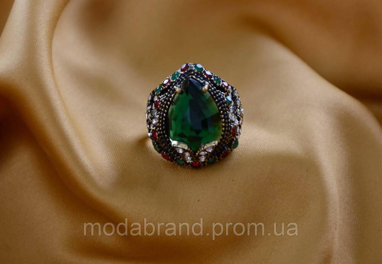 Красивое женское кольцо Турецкий Тюльпан.Бижутерия Великолепный Век ... f92f58f7e03
