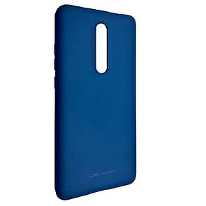 Чехол-накладка Silicone Hana Molan Cano для Xiaomi Redmi 8 (blue)