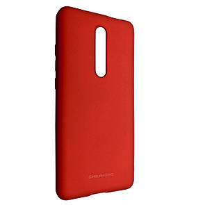 Чехол-накладка Silicone Hana Molan Cano для Xiaomi Redmi 8 (red)