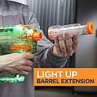 Бластер Nerf Нерф Модулус Прозорий Привид Nerf Modulus Ghost Ops Evader Motorized Light-Up, фото 2