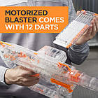 Бластер Nerf Нерф Модулус Прозорий Привид Nerf Modulus Ghost Ops Evader Motorized Light-Up, фото 5