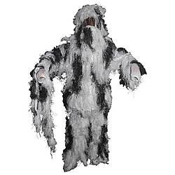 Костюм маскувальний Ghillie Suit сніговий камуфляж MFH