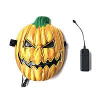 Хэллоуин LED Маска Флуоресцентный Тыквенный Стиль EK Светящиеся Маска для Украшения -1TopShop