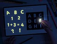 Трафареты  (алфавит, цифры и знаки) для набора Рисуем светом