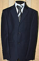 Школьная форма. Пиджак  школьный синий.