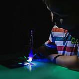 Мягкий коврик в тубусе для рисования в темноте Рисуй светом 56х39см, фото 7