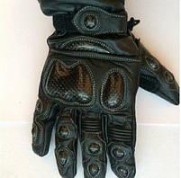 Мотоперчатки кожаные теплые KF002-L Octane