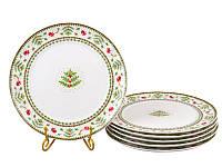 """Набор тарелок 6 шт """"Рождественская коллекция"""" 26 см, Lefard, 943-161"""