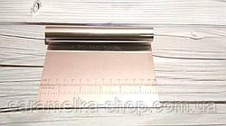 Шпатель кондитерский металлический 15см