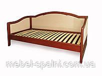 """Диван - кровать полуторная деревянная """"Лорд"""" dn-kr2.1"""
