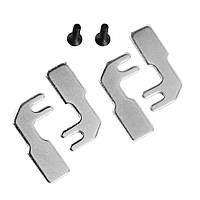 4x стальных зубца версии 2 - V2 стальных штифтов + 2 винта с потайной головкой для 3D-принтера Prusa i3-1TopShop