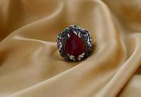 Красивое женское кольцоОсманский Тюльпан.Бижутерия Великолепный Век.