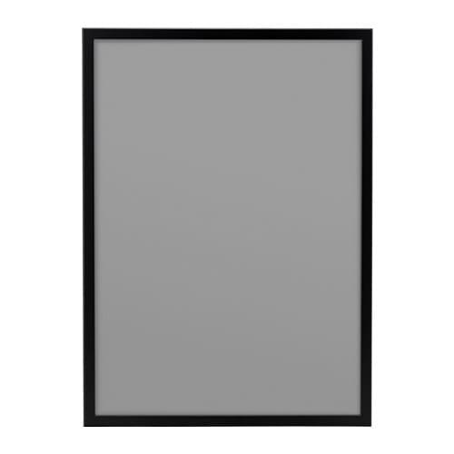 ИКЕА (IKEA) ФИСКБУ, 502.979.61, Рама, черный, 50x70 см - ТОП ПРОДАЖ