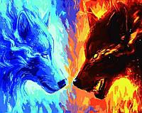 Картина по номерам 40x50 Противостояние, Rainbow Art (GX5354)