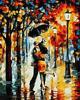 Картина по номерам 40x50 Танец под дождём, Rainbow Art (GX7569)