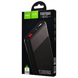 Power Bank Hoco B35С Entrourage, 12000mAh, 2USB 2.4A,LED-дисплей