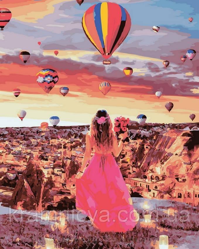 Картина по номерам 40x50 Рассвет в Каппадокии, Rainbow Art (GX32006)