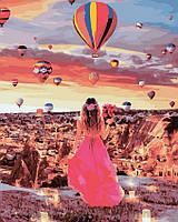 Картина по номерам 40x50 Рассвет в Каппадокии, Rainbow Art (GX32006), фото 1