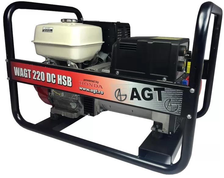 Сварочный генератор AGT WAGT 220 DC HSB (6,5 кВт)