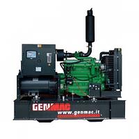 Трехфазная газовая электростанция Genmac STAR G85GOA Natural Gas (82 кВа)