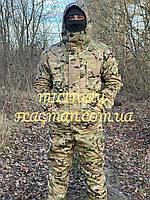 Тактический Костюм Горка-5 Мультикам на флисе Беларусь 48-50, до 190 см