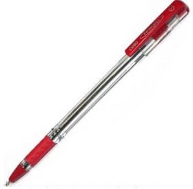 Ручка Масляная 0.5 мм Cello Finegrip красная