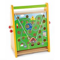 Деревянная игра Viga Toys По полю и по морю (50109)