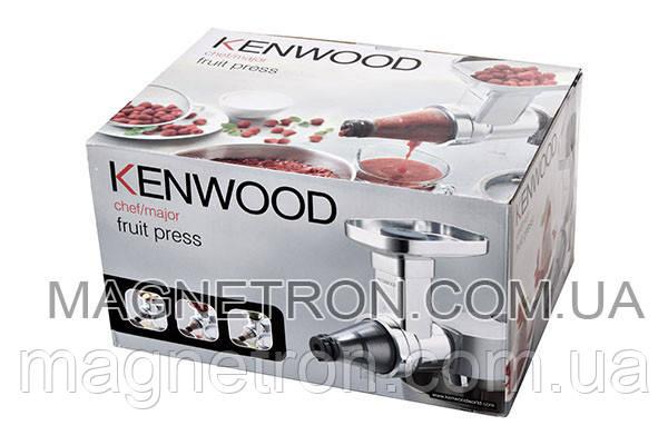 Шнековая соковыжималка AT644 - насадка для кухонного комбайна Kenwood AWAT644B01, фото 2