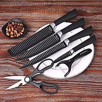 Набор ножей NON stick 6 in 1 knife block (4787)