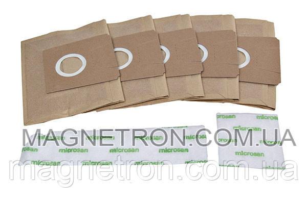 Бумажный мешок Type E/F/D BBZ24AF для пылесоса Bosch, Siemens 461408, фото 2
