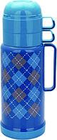 Термос со стеклянной колбой на 1 л Con Brio CB-352-blue