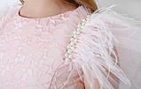 Гламурное платье для девочки  ТМ МОНЕ р-ры 146, фото 4