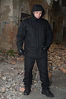 Костюм-горка зимний на флисе М65 черный