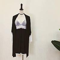 Комплект женского нижнего белья пеньар с халатом Т022, фото 1