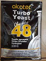 Дріжджі спиртові Alcotec 48 Turbo Classic, 21%. 130г.