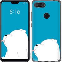 """Силиконовый чехол на Xiaomi Mi 8 Lite Мишка 1 """"4358u-1585-26838"""""""