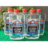 Супер прозрачный клей Элмерс,  Elmer's clear glue идеален для создания слаймов  946 мл