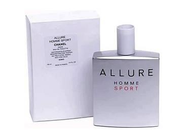 Мужская Туалетная Вода Chanel Allure Homme Sport тестер, фото 2