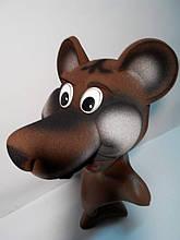Шапка-маска з поролону Ведмідь
