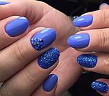 Гель-лак Oxxi (8 мл) №052 (светлый сине-фиолетовый, эмаль), фото 7
