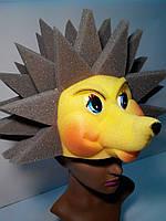 Шапка-маска из поролона Ежик