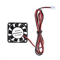40mmx40mmx10mm DC 12V 0.08A DIY Бесколлекторный Охлаждающий вентилятор Противотуманный вентилятор JST-XH 2.5 мм 2P Провод для 3D принтера RepRap i3