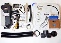Автономный обогреватель салона сухой фен дизель 5kw 12V 24V, фото 1