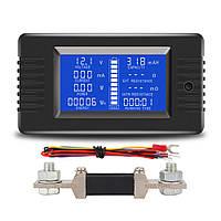 PZEM-015 Батарея Тестер DC Напряжение Ток Мощность Емкость Внутреннее и внешнее сопротивление Измеритель остаточного электричества с шунтом