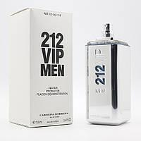 Тестер. Мужская туалетная вода Carolina Herrera 212 VIP Men (Каролина Эерерра 212 Вип Мэн) 100 мл.