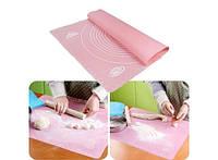 Силиконовый коврик для раскатывания теста 40х50 см