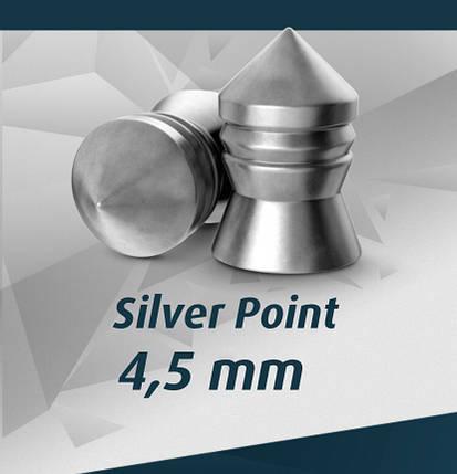 Пули пневматические H&N 500 шт.,0,75гр.,Silver Point 4,5 mm, фото 2