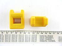 Прибор для намагничевания отверток желтый