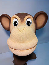 Шапка-маска з поролону Мавпа